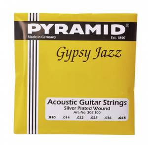 Bilde av Pyramid Gypsy Jazz 010 - 045