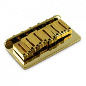 Bilde av Fender American Series Hardtail Bridge - Gold