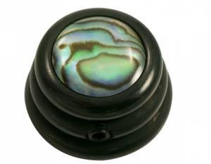 Bilde av Ringo knob - sort - Abalone