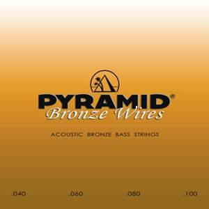 Bilde av Pyramid Bass Bronze Wires .040 - .100