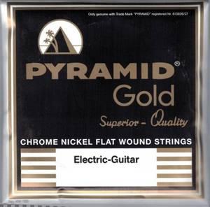 Bilde av Pyramid Gold Flatwound - 010 - 0465